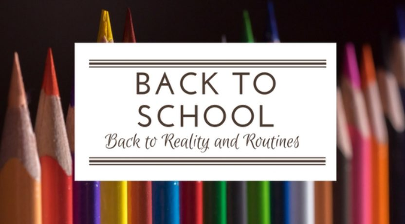 Ready for First Grade: Back to Reality and Routines
